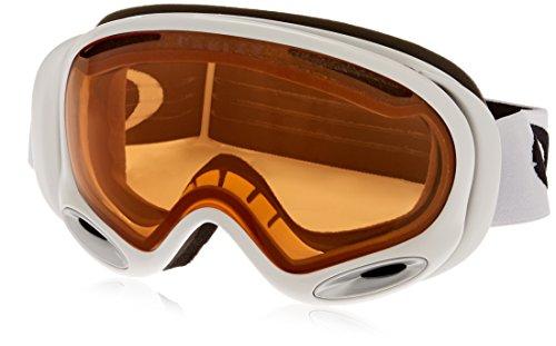Oakley Uni A Frame 2.0 Skibrille, POLISHED WHITE, EL. ADJUSTABLE