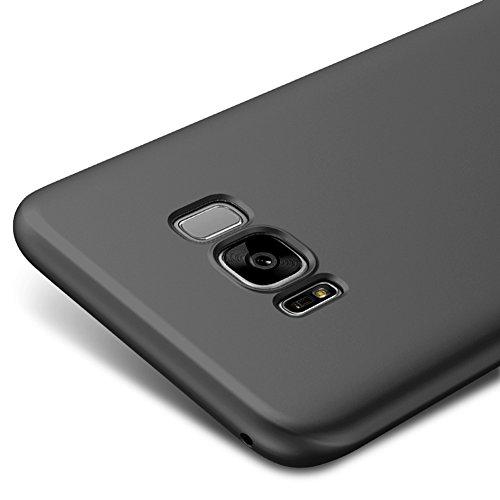Negro Ultra-delgado Funda Case Cover Para Samsung Galaxy S8+ / S8 Plus 6.2 pulgadas Vooway® MS70331