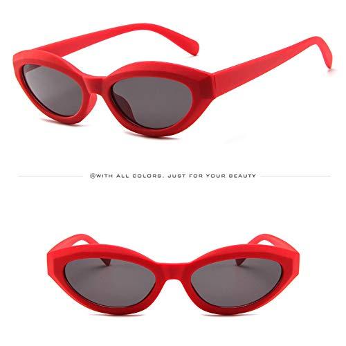 WUDUBE Steam Wave Punk Sonnenbrille, Unisex-Retro-Leopardenbrille