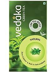 Vedaka Green Tea, Natural Tea, 100 Tea Bags