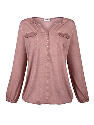Damen Shirt mit Paillettendekoration by AMY VERMONT Blush