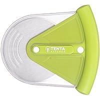 Tenta Cuisine Good Grips Roulette à pizza et cutter avec couverture en PP vert