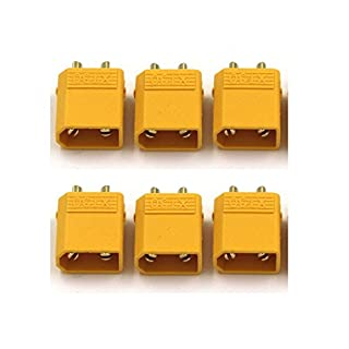 XT302.0mm Gold Plated–CONNECTOR HOUSING, Solderable, Hohstrom Plug, Pack of 6/pack