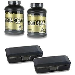 Peak Mega BCAA - 300 Tabs (2x150 Tabletten) + 2 Pillenboxen