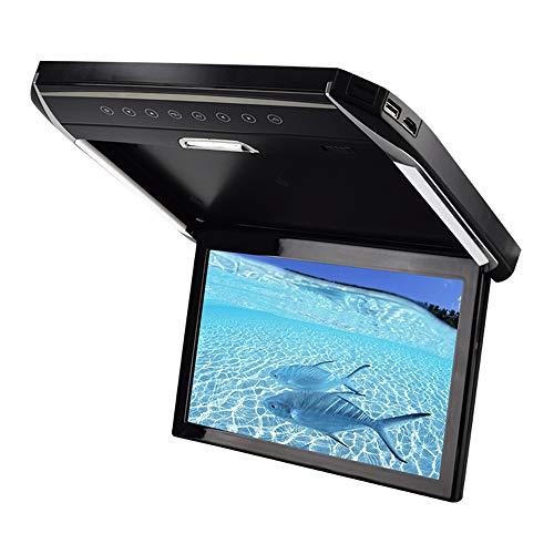 LED-Licht Auto-TV-Monitor Deckentyp 12,1-Zoll-Großbildschirm HD 1080P Geeignet für USB TF HDMI SD FM Kann an die Auto-DVD-Festplatte MP5 angeschlossen Werden