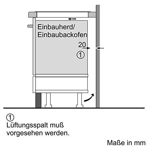 Neff T56BD60N0 Kochfeld Elektro / Induktion / 58,30 cm / Kochstelle Glaskeramik / schwarz - 6