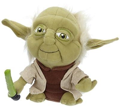 Joy Toy Star Wars 741415 - Yoda de peluche, 20 cm [importado de Alemania] por Joy Toy
