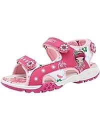 Hibote Sandalias Para Niñas Zapatos Deportivos Al Aire Libre Zapatillas Para Playa y Piscina de Verano