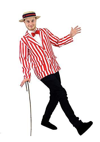 ILOVEFANCYDRESS I Love Fancy Dress ilfd4012m Herren Blazer gestreift (mittel)