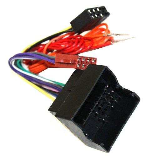 Preisvergleich Produktbild Aerzetix 3800946211570Adapter Kabelbaum ISO für Autoradio