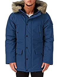 Carhartt Anchorage Parka Jacket Monsoon Blue/Black