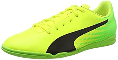 Puma Herren Evospeed 17.5 AG Fußballschuhe, Gelb (Safety Yellow Black-Green Gecko 01), 44 EU