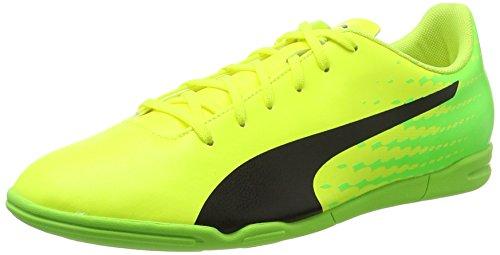 Puma Evospeed 17.5 IT, Botas de Fútbol para Hombre, Amarillo (Safety Yellow-Puma Black-Green Gecko 01), 43 EU
