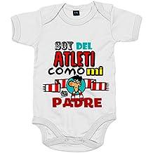 Body bebé Atlético de Madrid soy del Atleti como mi padre 7edc830a71042