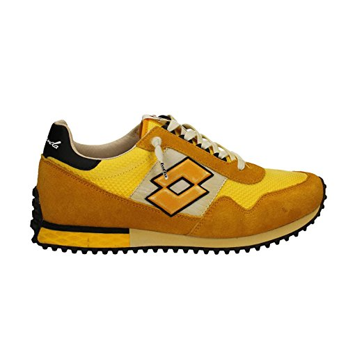 Lotto Leggenda S8854 Zapatillas De Deporte Hombre Gamuza/tejido Azul/Amarillo Azul/Amarillo 45