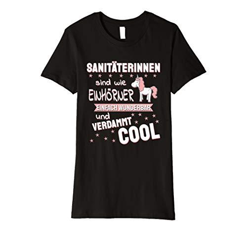 Damen Sanitäter TShirt lustig I Rettungssanitäter Sanitäterin T-Shirt