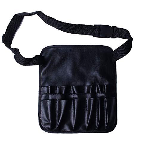 TOOGOO Delantal cepillo maquillaje cosmetico PVC bolsa
