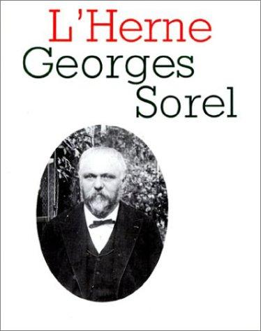 L'Herne, numéro 53 : Georges Sorel