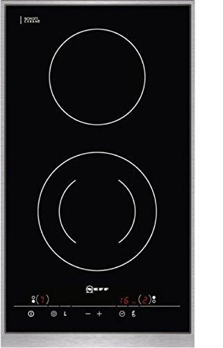 Neff Domino ND 1430 N Kochfeld Elektro / Induktion / 30.6 cm / Designrahmen in edelstahl / schwarz