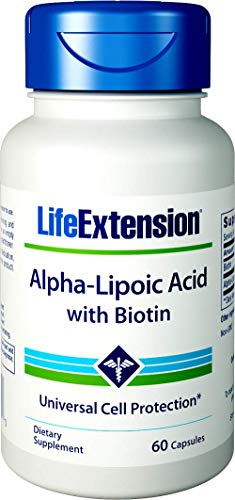 Life Extension, Super Alpha-Lipoic Acid, with Biotin, 250 mg, 60 Capsules