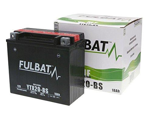 Batterie FULBAT YTX20-BS MF wartungsfrei für ARTIC CAT F5Baujahr 07-09[ inkl.7.50 EUR Batteriepfand ] -