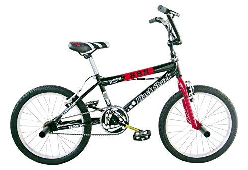 Frejus BMX Bicicleta, Unisex niños, Negro, XS