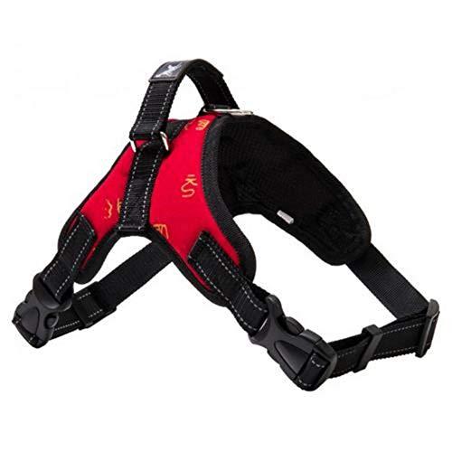 cliff.l Correa para el Pecho del Perro - Arnés Chaleco Collar Luminoso Silla - Estilo Cinturón de Perrito Arnés Chaleco Suministros para Mascotas