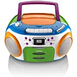 Lenco Kids mit UKW-Radio, LCD-Display, Wiederholungsfunktion, Aux-Eingang