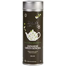 English Tea Shop - Grüner Sencha, BIO, 15 Pyramiden-Beutel in Dose