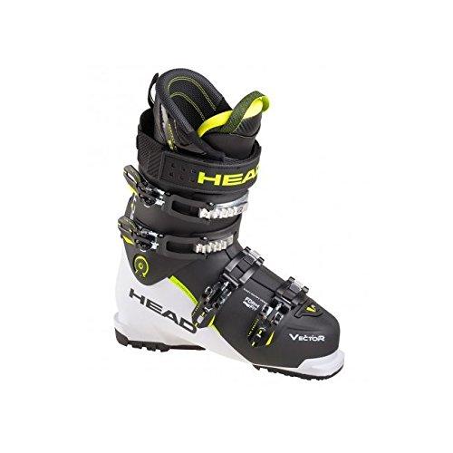 HEAD Herren Skischuhe Vector Evo ST Weiss/Schwarz (909) 28,5 (Racing Herren-ski-stiefel)