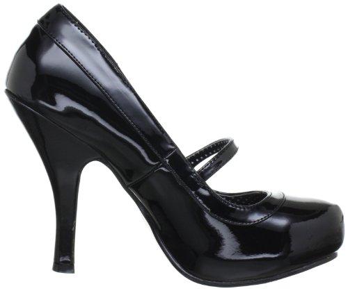 Pleaser PinUp Couture CUTIEPIE-02 Damen Pumps, Schwarz (Blk pat), EU 37 (UK 4) (US 7) -