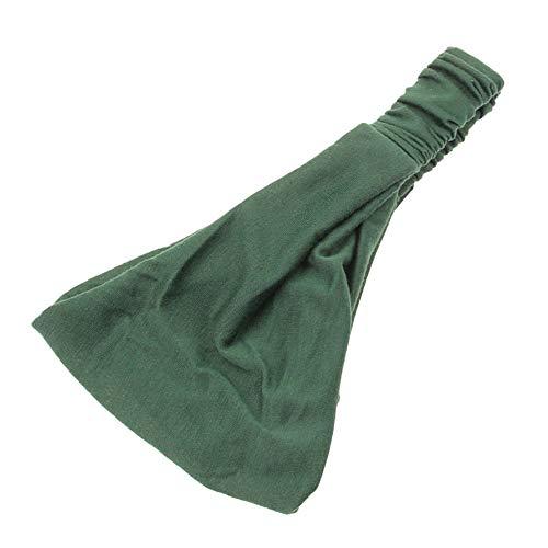 Haarbands,Sasstaids Boho Twist Stirnband elastische Wickel Turban Haarband Yoga Sport - Machen Eisbär Kostüm