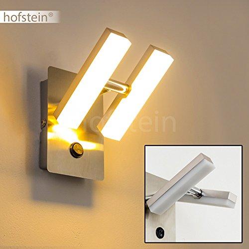 Lmpara-de-pared-LED-Sakami-Moderno-Aplique-de-pared-2x-2W-LED-alta-eficiencia-3000K-cromo-Lmpara-de-pared-con-interruptor-para-saln-comedor-dormitorio