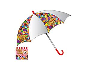 Parapluie Candy Crush saga transparent Bonbons - 75 cm Officiel