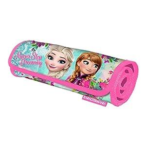 Disney Frozen Estuche portatodo, Color Turquesa, 61 cm (Karactermanía 32377)