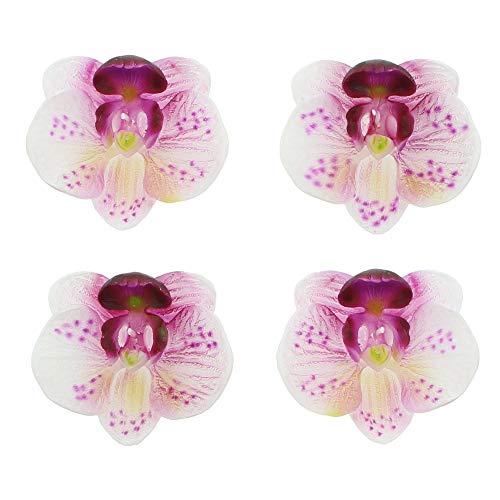 FRANK FLECHTWAREN Schwimmkerze Orchidee im 4er Set