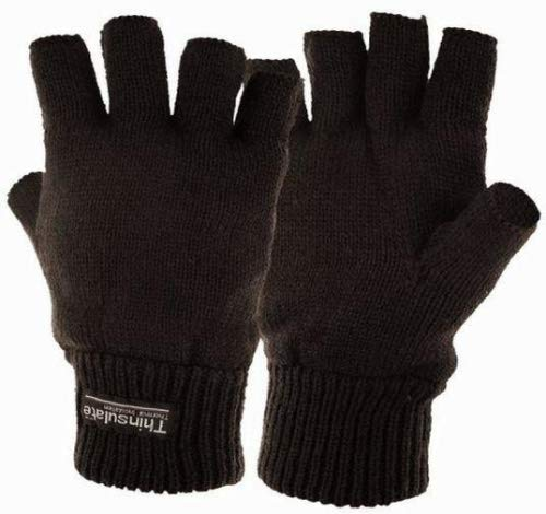 Highlander Stayner - Guantes cortos térmicos negro
