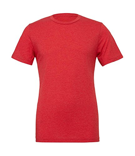 T-Shirt 'Triblend Crew Neck Tee' Light Red Triblend