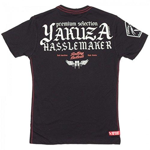 Yakuza Premium T-Shirt YPS2112 Weinrot