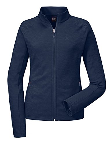 Schöffel Damen Fleece Jacket Nagoya Fleecejacke, Navy Blazer, 36