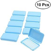 ROSENICE 10pcs cera ortodóntica dental para ortodoncia refuerza Wearer Mint Flavour (azul ...