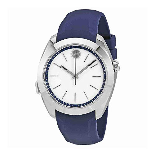 Movado Women's Bold Motion 40mm Blue Silicone Band Swiss Quartz Watch 3660011
