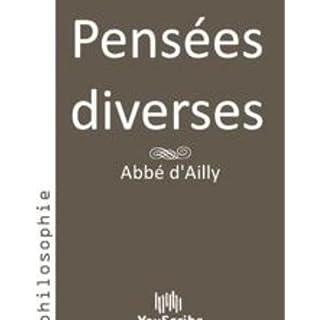 Pensées diverses (French Edition)