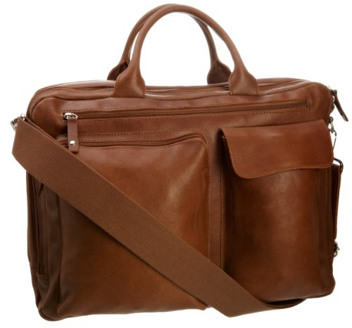 Jost  2577 Hunter,  Borsa ventiquattrore unisex adulto Marrone (Cognac)