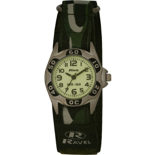 Ravel-Childrens-Glow-in-the-Dark-Green-Camouflage-Strap-Watch