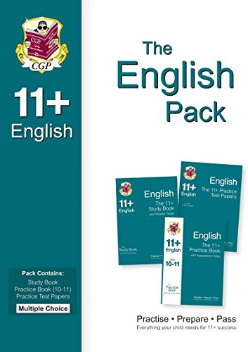 11+ English Bundle Pack - Multiple Choice (for GL & Other Test Providers) Cover Image
