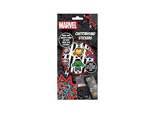 Marvel Autocollants Mignons Avengers - Noir