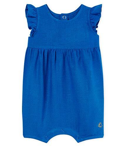 Petit Bateau Baby-Mädchen Belly Spieler, Blau (Riyadh 01), 62 (Herstellergröße: 3M/60cm)