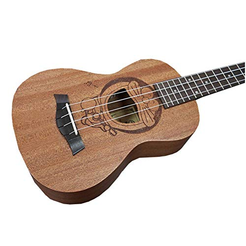 QLJ08 Ukulele 23 pollici 4 corde Mini chitarra 6 tipi di modelli di cartoni animati Regalo per bambini Sapele Ukelele 23 pollici