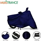 Mototrance Blue Bike Body Cover for Honda Activa 5G